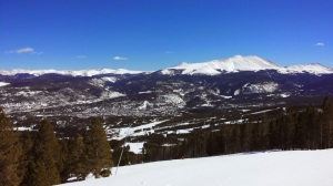 Breckenridge, view from the slopes